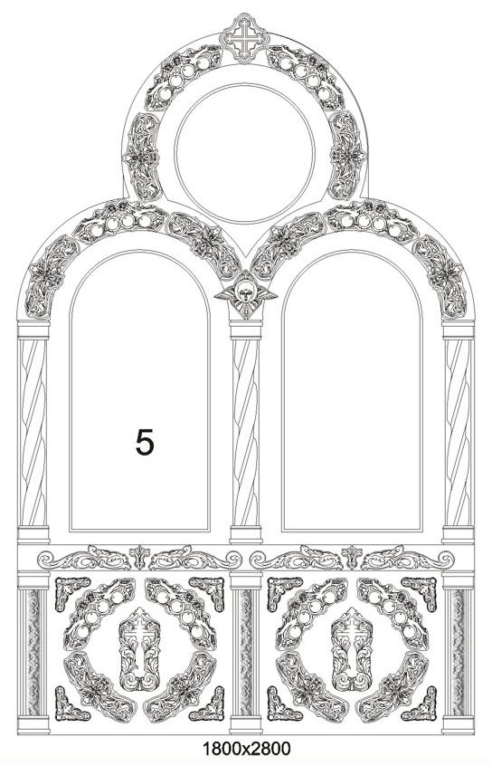 Как сделать киот для иконы своими руками чертежи 19
